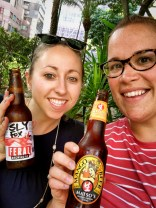 We did A LOT of walking. We walked and metroed all of HK in 3 days. These beers were well deserved!