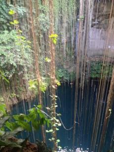 Cenote near Chichen Itza