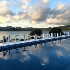 NET-A-PORTER Poolside at qualia