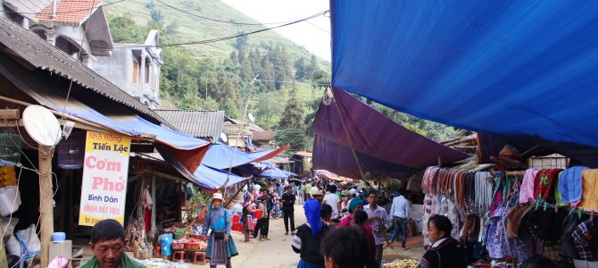 Ethnic Minority Market at Lung Khau Nhin