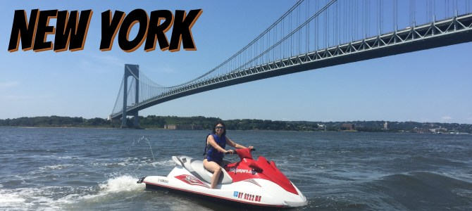 Sightseeing Tour in New York on a Jet Ski