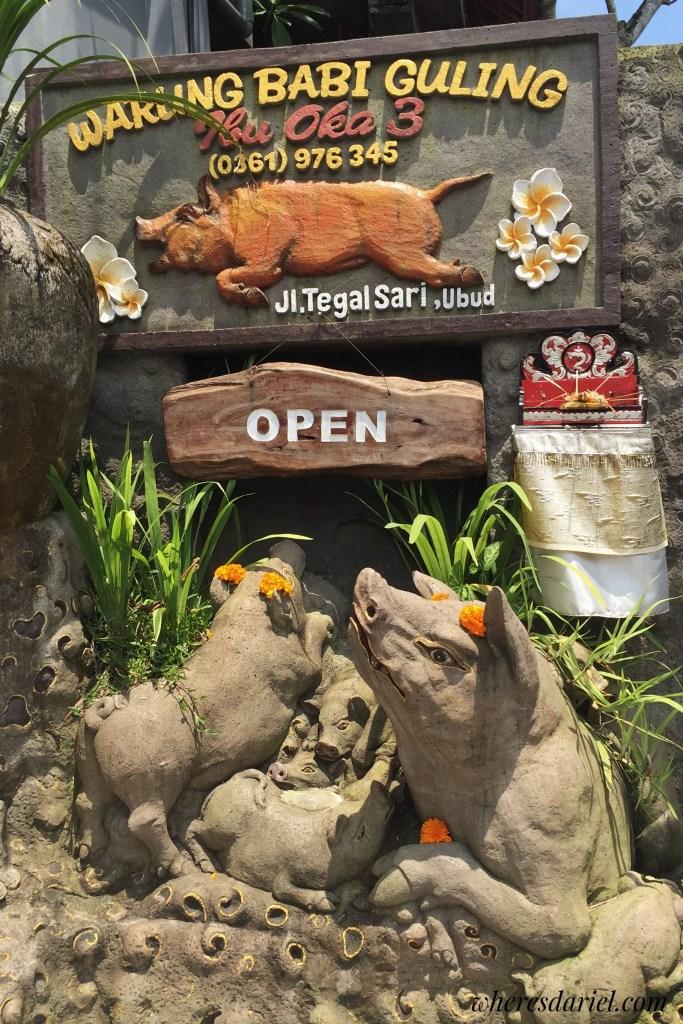Things to do in Bali - Ibu Oka