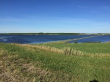 One of the many lakes in North Dakota