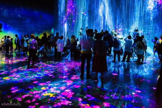 MORI Digital Art Museum Odaiba Tokyo