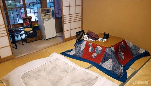 Senshinkan Matsuya ryokan interior
