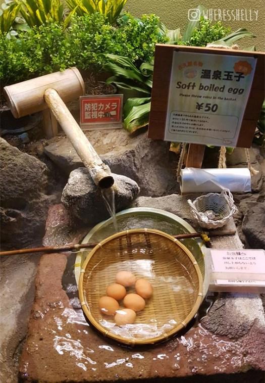 Shibu Onsen eggs