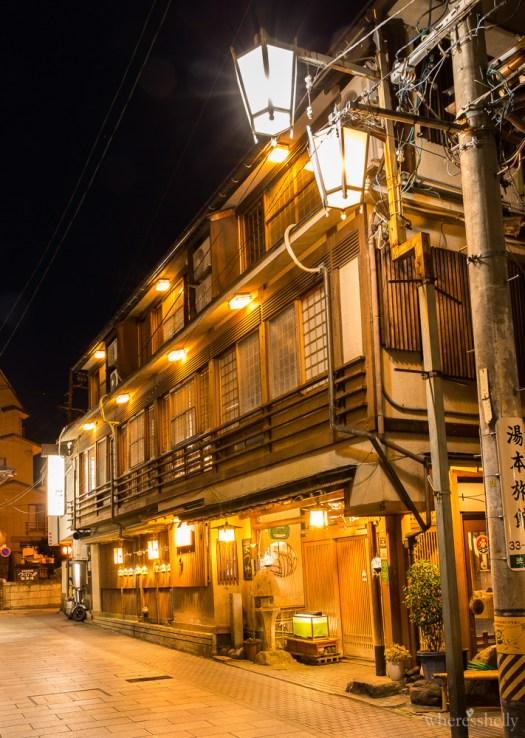 Senshinkan Matsuya ryokan exterior