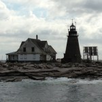 Research station/lighthouse off the coast of Maine