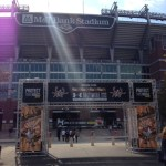 M&T Bank Stadium - home to the Baltimore Ravens, the Marathon Expo, and right next to Camden Yards