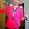 Dork who finished Flying Pig Marathon