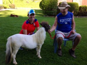 Mini horse! Hatfield McCoy 2014