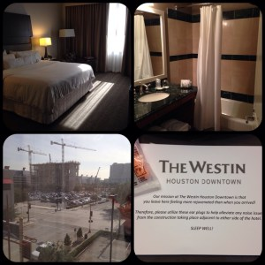 Westin Houston Downtown collage