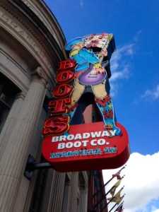 No picture of Husk - instead enjoy this neon boot sign.