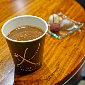gorąca czekolada Karmello