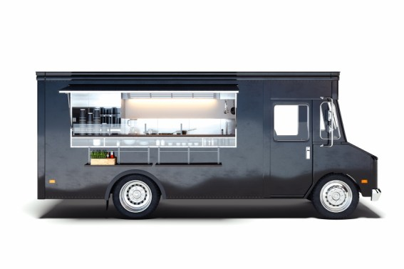 black food truck- maintenance