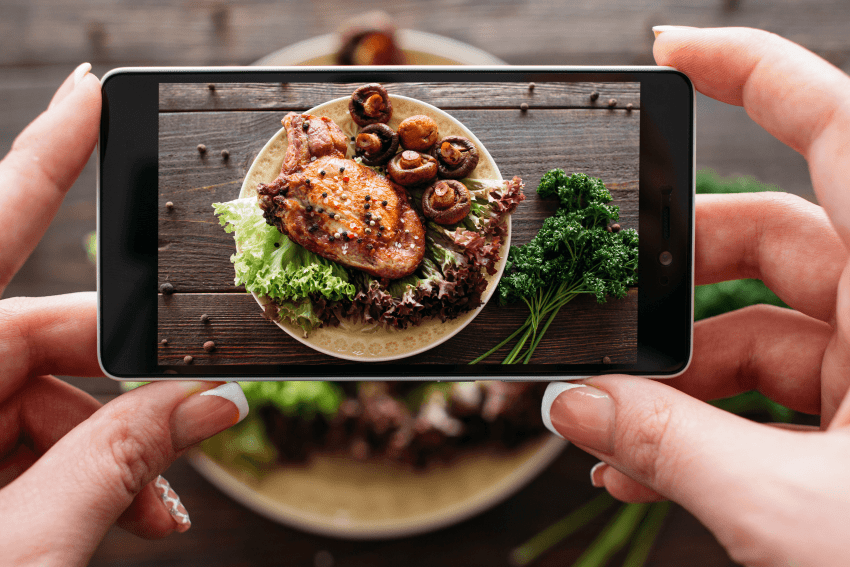 how to take great food pictures