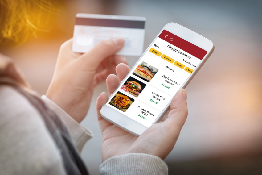 mobile ordering on where's the foodtruck
