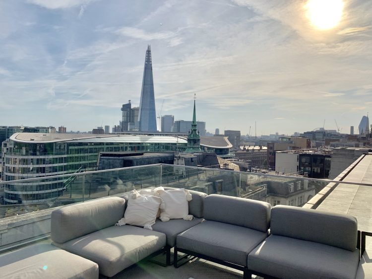 London Rooftop at Four seasons