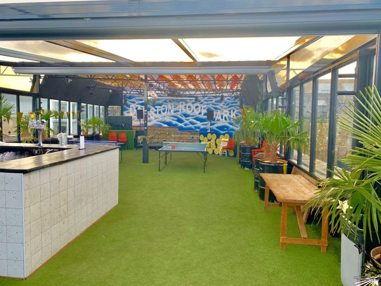 Dalston Rooftop bar