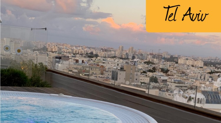 Rooftop bars in Tel Aviv