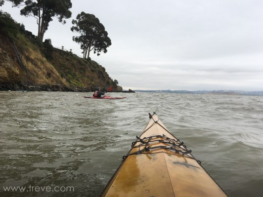 Thursday paddle from China Camp to Brickyard and back.