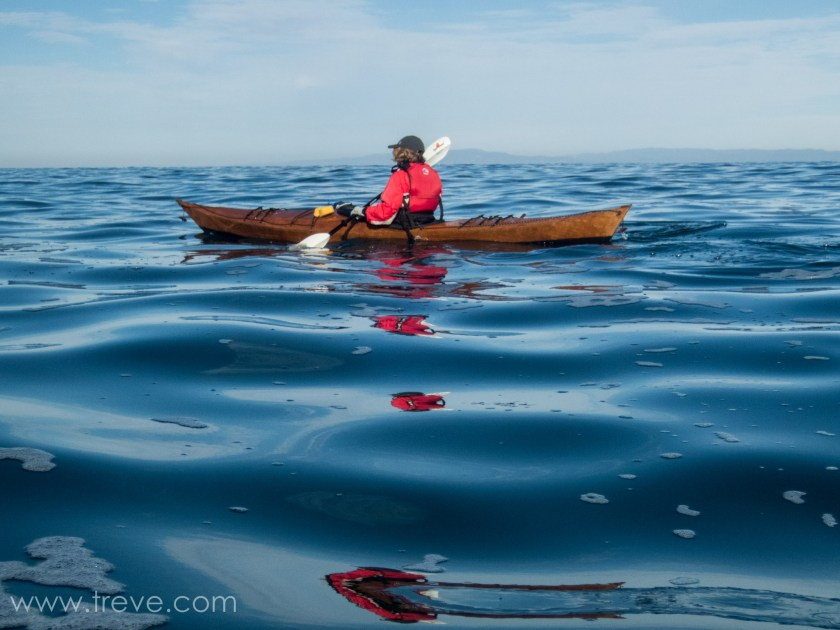 Paddling on Monterey Bay