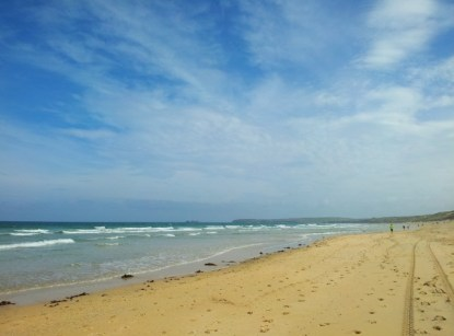 Beach near Hayle, Cornwall