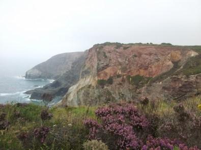 Cliffs in Cornwall