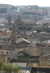 Rooftops in tudela
