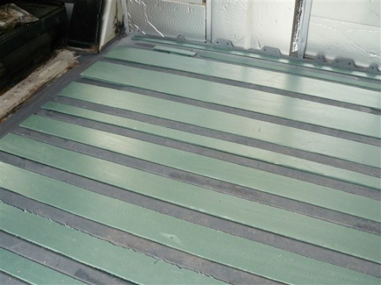 Under floor insulation