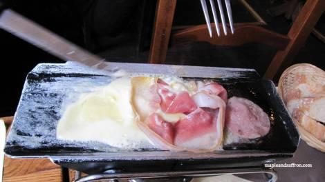 raclette in Paris