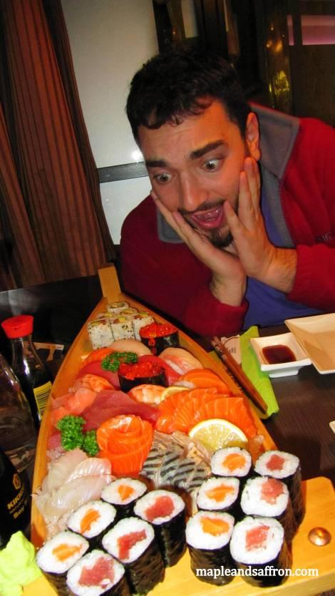 Sushi in Paris