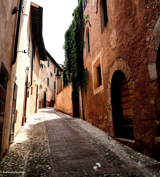 Street of Trevi, Umbria