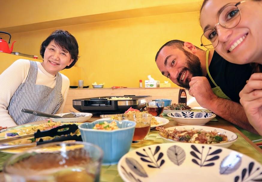 Lezione di cucina a Kyoto