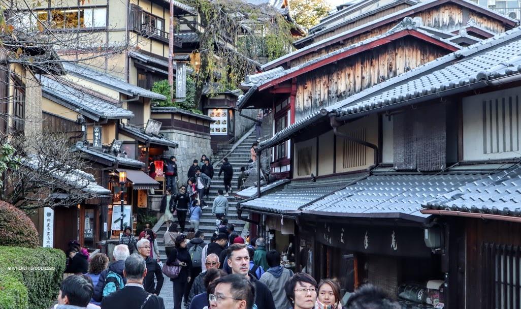 Sannenzaka e Ninenzaka, Kyoto