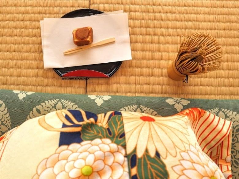 Cerimonia del tè in kimono, Osaka