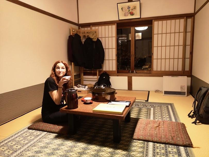 La nostra stanza nel tempio Ekoin - Koyasan