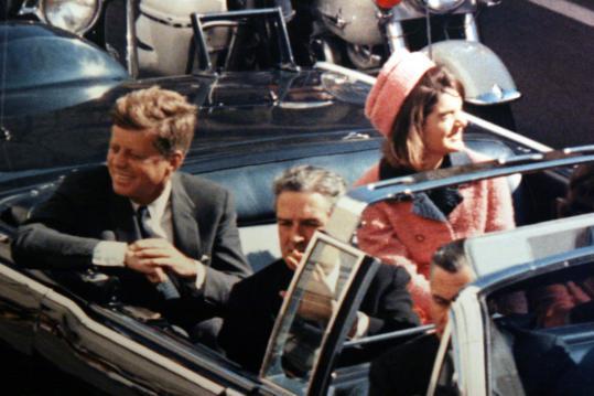 JFK prima dello sparo a Dallas