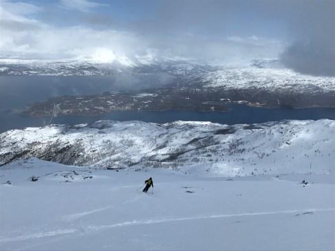 Narvikfjellet back side