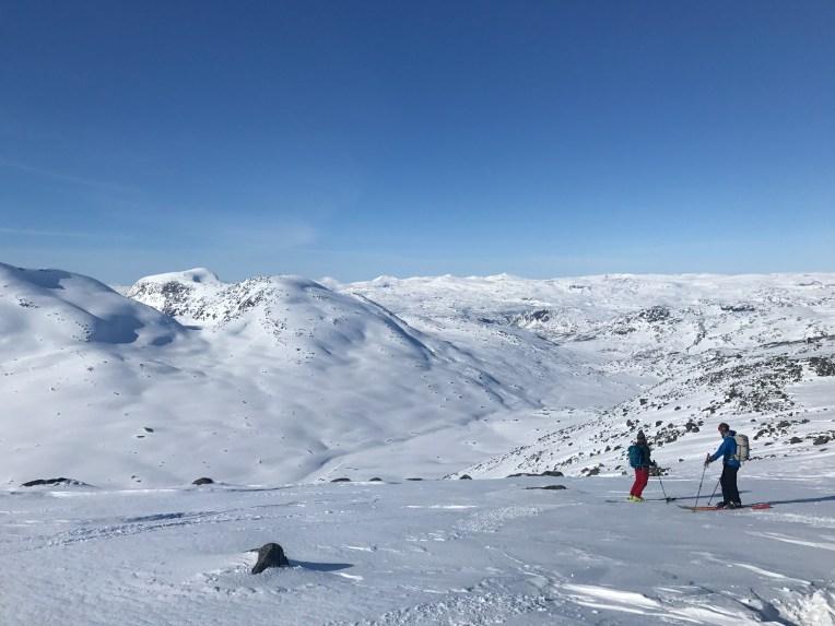 Overlooking Hundallen from partway down Ristačohkka