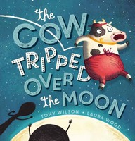 cow tripped over moon