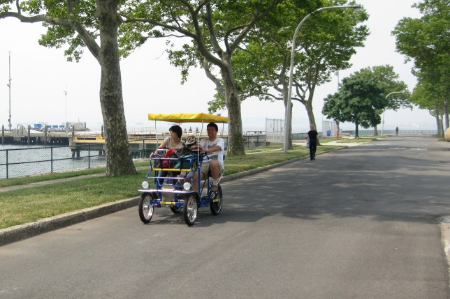 Governors Island Bike Ride
