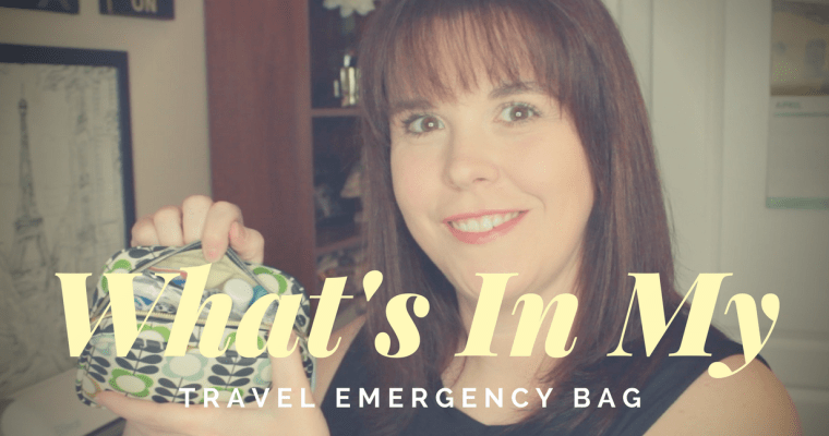 What's In My Travel Emergency Bag