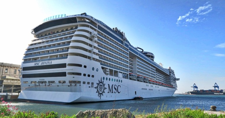 Our Mediterranean Cruise on the MSC Divina