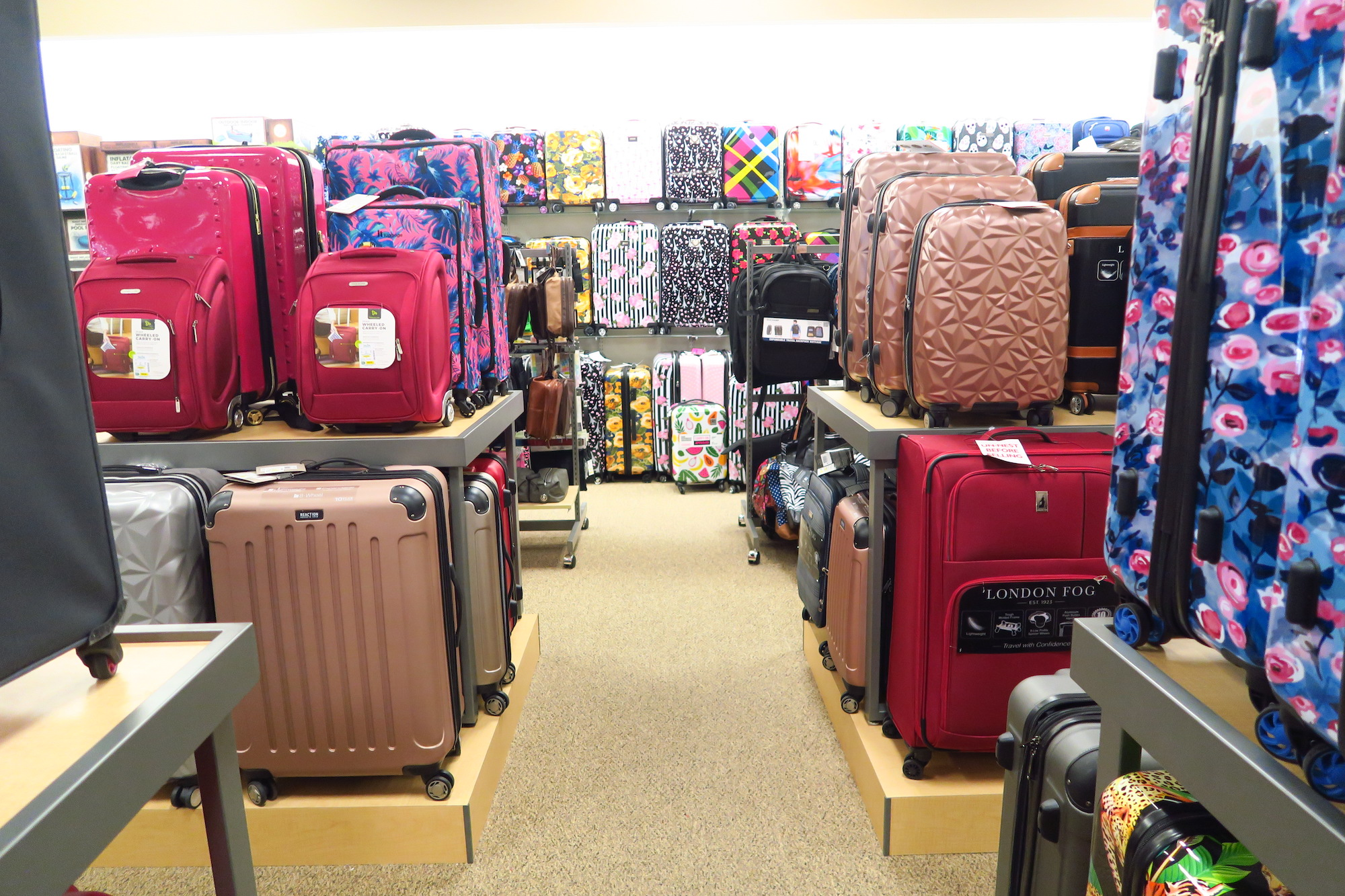 Shopping for New Carry On Luggage