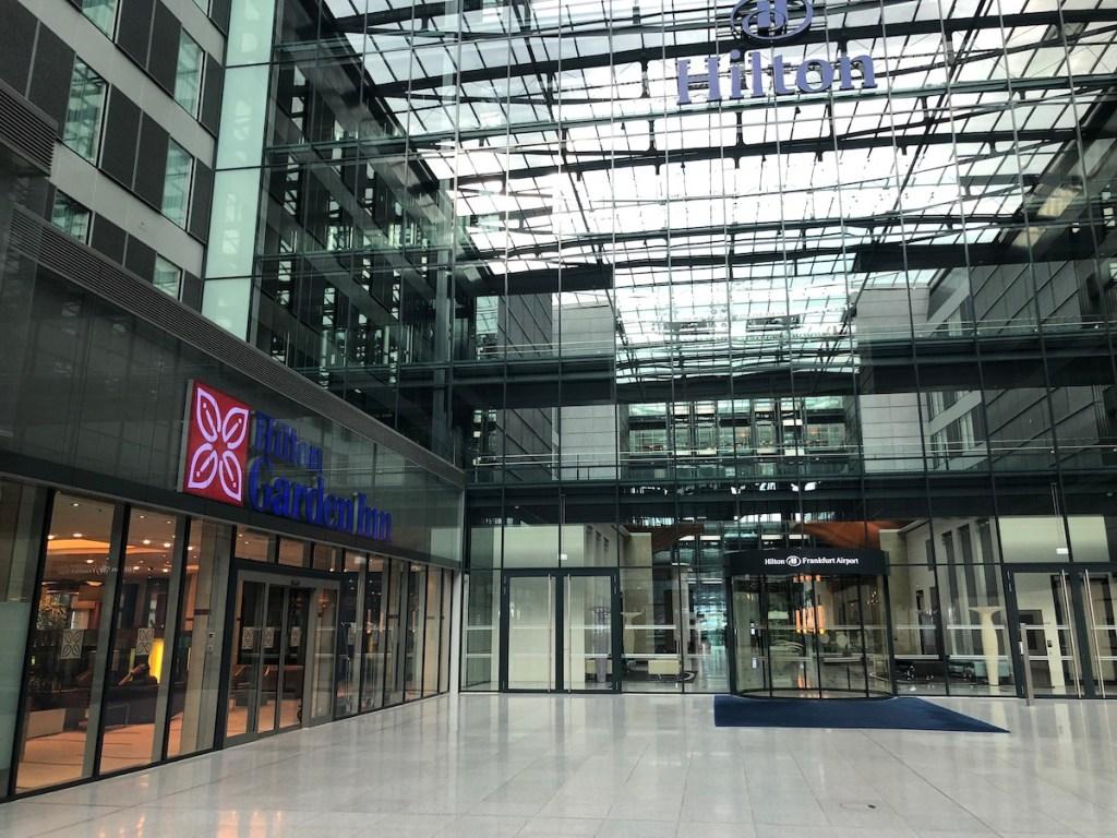 hilton garden inn frankfurt airport squaire