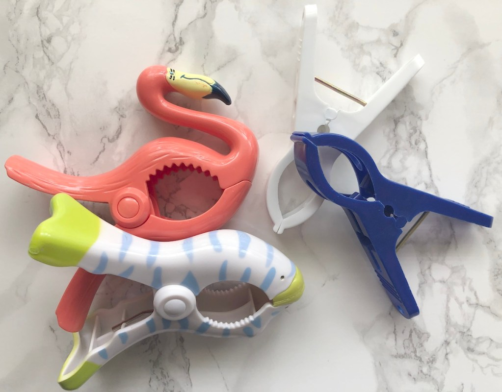 towel clips