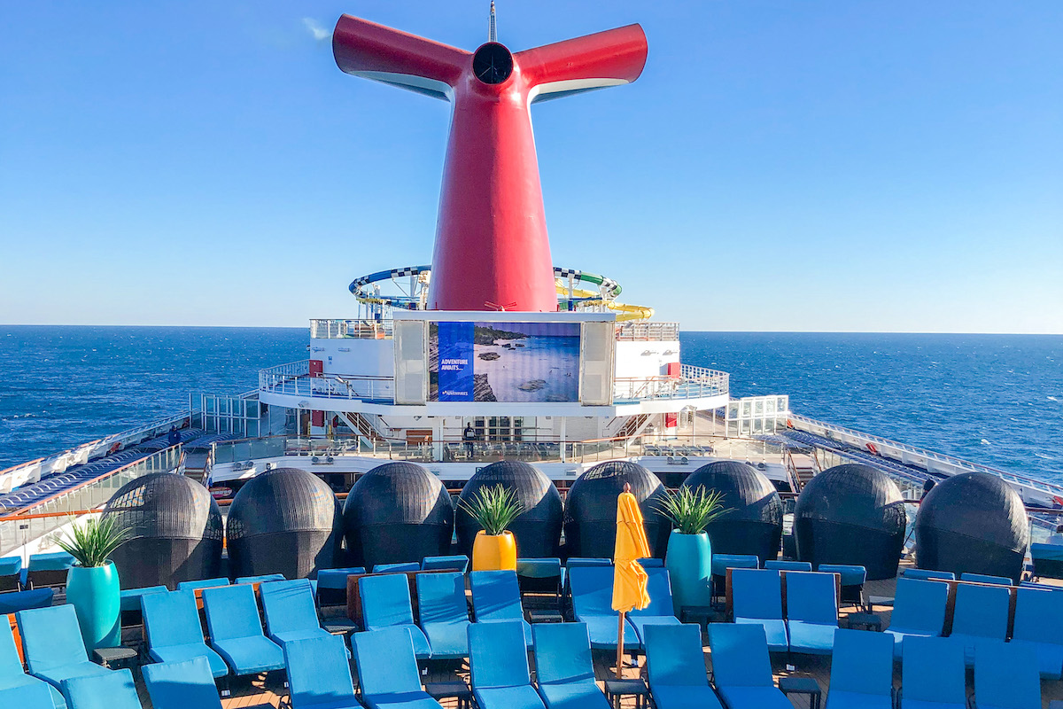 Sailing on the Carnival Sunshine to the Bahamas