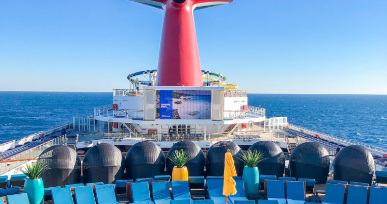 Sailing on the Carnival Sunshine to the Bahamas