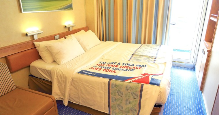 Carnival Sunshine Balcony Cabin #9151 Room Tour